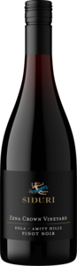 Willamette Valley Zena Crown Vineyard Pinot Noir