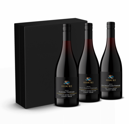 Siduri Single Vineyard Gift Set